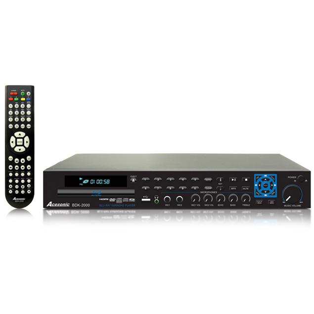BDK-2000 Blu-Ray Disc Multimedia Karaoke Player | Acesonic